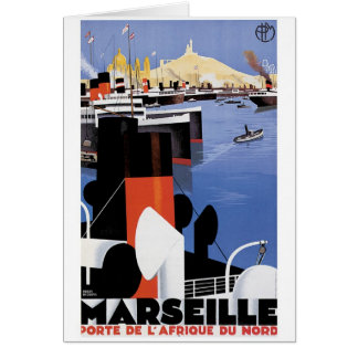 Marseilles Poster Card