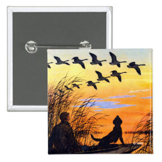 Marsh by Paul Bransom 2 Inch Square Button