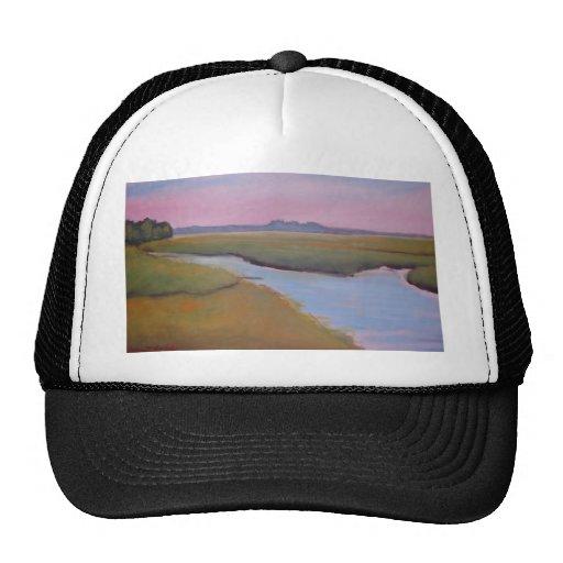 Marsh Channel Sunrise Hat