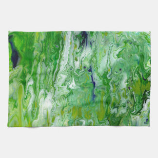 Marsh Faeries Abstract Towel