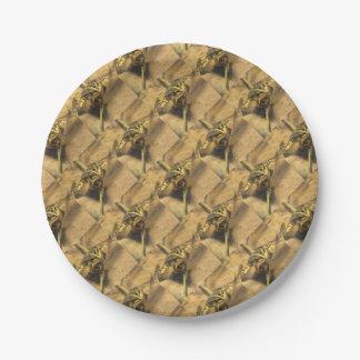 Marsh Frog 7 Inch Paper Plate
