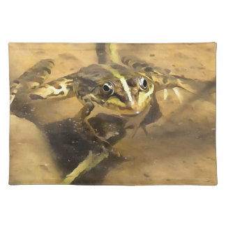 Marsh Frog Placemat