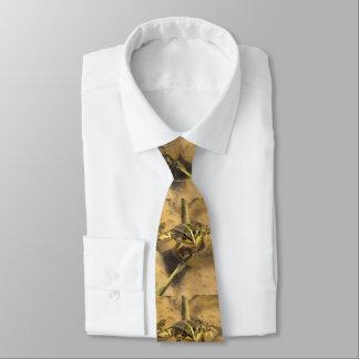 Marsh Frog Tie