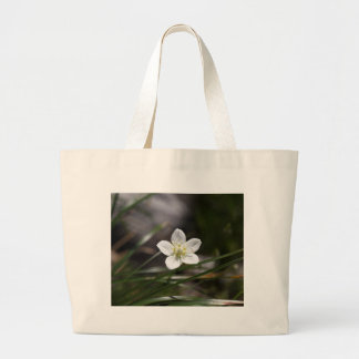 Marsh grass of Parnassus (Parnassia palustris) Large Tote Bag
