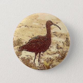 Marsh Ibis Button