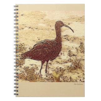Marsh Ibis Spiral Notebook