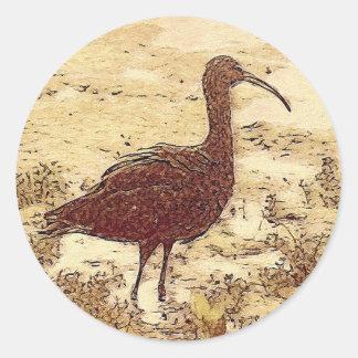 Marsh Ibis Stickers