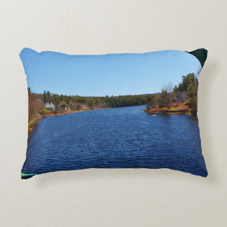 Marsh Stream in Frankfort, Maine Accent Pillow