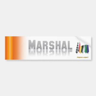 """Marshal 2"" by Flagman Bumper Sticker"
