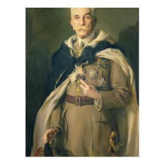 Marshal Louis Hubert Gonzalve Lyautey  1929 Postcard