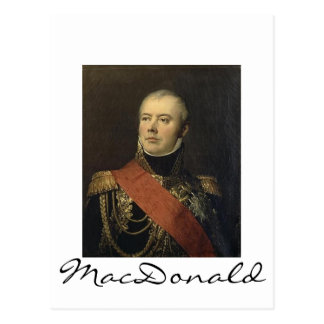 Marshal MacDonald Postcard