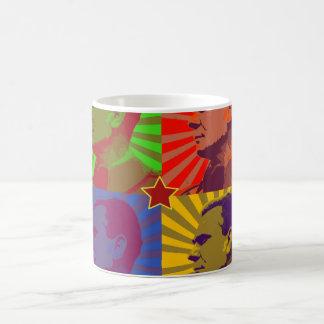 MARSHAL TITO POP ART PORTRAIT COFFEE MUG