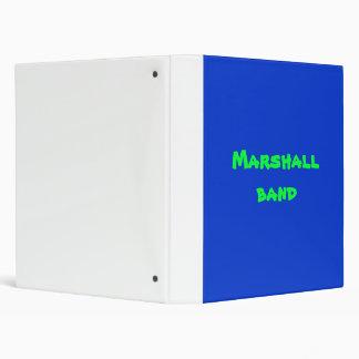 MARSHALL BANDthe best Vinyl Binder
