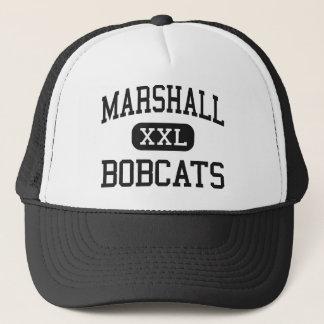 Marshall - Bobcats - High - Marshall Arkansas Trucker Hat