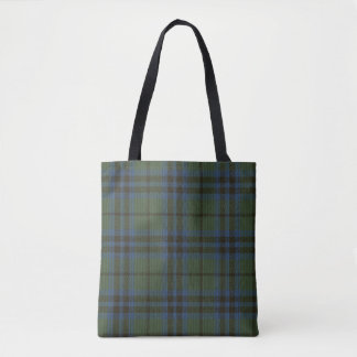 Marshall Clan Tartan Tote Bag