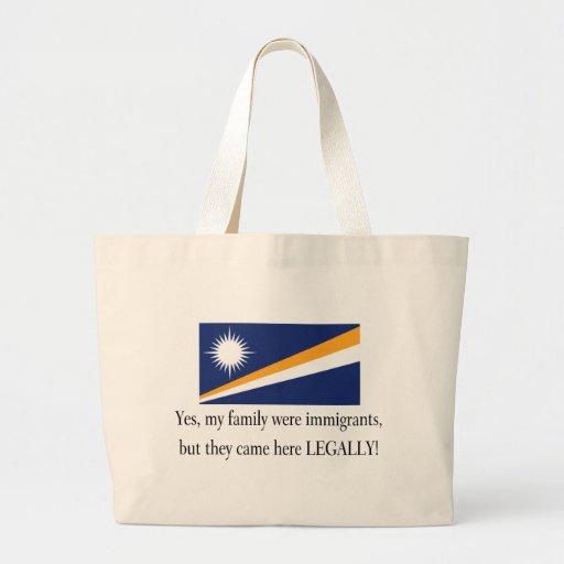 Marshall Islands Canvas Bag