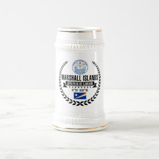 Marshall Islands Beer Stein