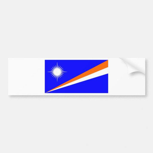 Marshall Islands Bumper Sticker