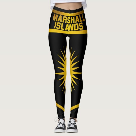 Marshall Islands Emblem Leggings