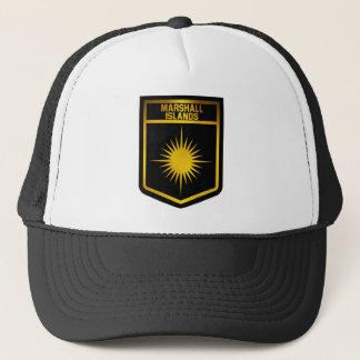 Marshall Islands Emblem Trucker Hat