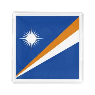 Marshall Islands Flag Acrylic Tray