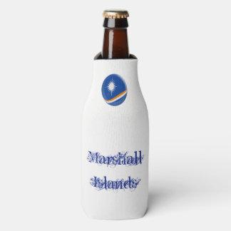 Marshall Islands Flag Bottle Cooler
