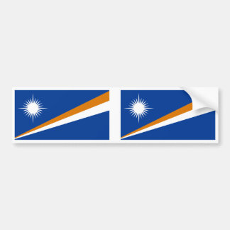 Marshall Islands Flag Bumper Stickers