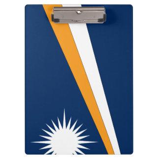Marshall Islands Flag Clipboard