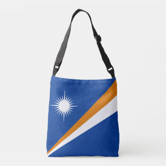 Marshall Islands Flag Crossbody Bag
