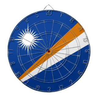 Marshall Islands Flag Dartboard