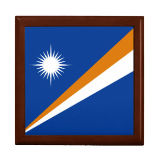 Marshall Islands Flag Gift Box