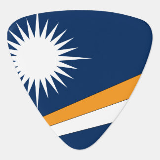 Marshall Islands Flag Guitar Pick