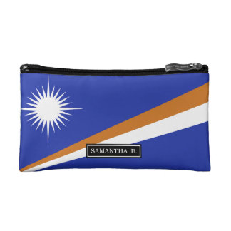 Marshall Islands Flag Makeup Bags