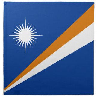 Marshall Islands Flag Napkin