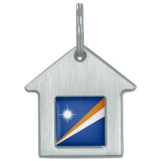 Marshall Islands Flag Pet Name Tag