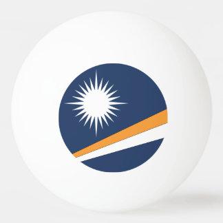 Marshall Islands Flag Ping-Pong Ball