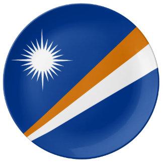 Marshall Islands Flag Plate
