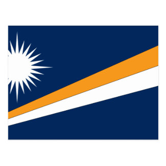 Marshall Islands Flag Postcard