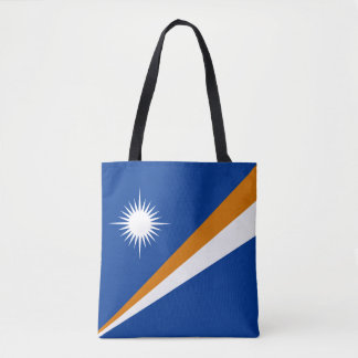 Marshall Islands Flag Tote Bag