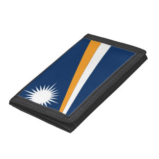 Marshall Islands Flag Trifold Wallet