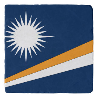 Marshall Islands Flag Trivet