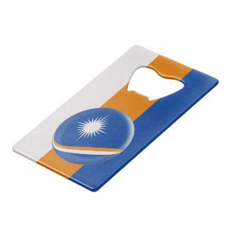 Marshall Islands Flag Wallet Bottle Opener