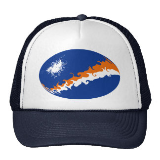 Marshall Islands Gnarly Flag Hat