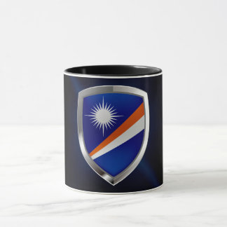 Marshall Islands Metallic Emblem Mug