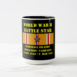 Marshall Islands Operation Campaign Two-Tone Coffee Mug