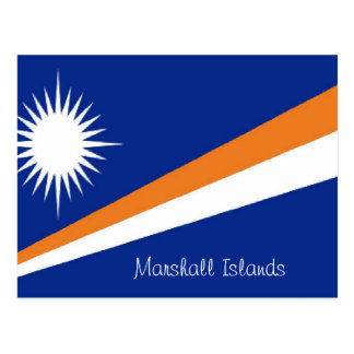Marshall Islands postcard