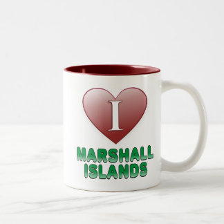 Marshall Islands Two-Tone Coffee Mug