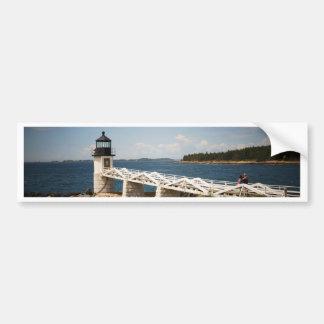 Marshall Point Light Bumper Sticker