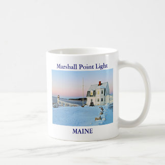 Marshall Point Light, Maine Coffee Mug