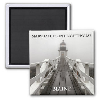 Marshall Point Light, Port Clyde Maine Magnet